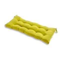 Greendale Home Fashions 51-Inch Indoor/Outdoor Bench Cushion, Kiwi