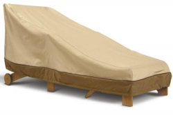 Classic Accessories Veranda Day Chaise Cover – Large, 78 Inches