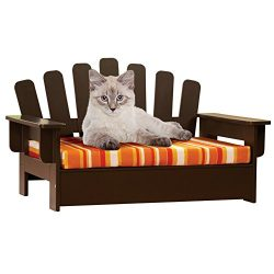 Wooden Adirondack Pet Chair