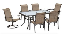 7 Piece Dining Set Perfect for Any Outdoor Dining Set Needs. This Is One of Many Dining Table Se ...
