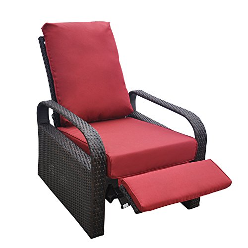Only Cover Outdoor Recliner Chair Replacement Cushion