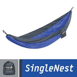 ENO Eagles Nest Outfitters – SingleNest Hammock, Portable Hammock for One, Portable Hammoc ...