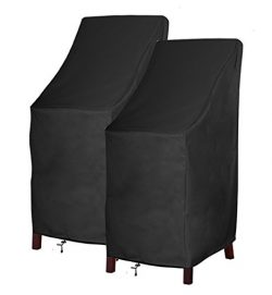 Patio Chair Cover Bar Chair/Stool Cover Stackable Chairs Cover – Premium Outdoor Furniture ...