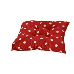 ABC® Fashion Indoor Patio Home Office Polka Dot Chair Pads Seat Pads (Red)