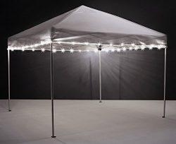 Brightz, Ltd. Canopy Brightz LED Tailgate Canopy and Patio Umbrella Accessory Light, White