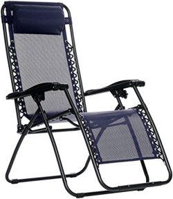 AmazonBasics Zero Gravity Chair – Blue