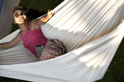 Hammock Sky Brazilian Double Hammock – Two Person Bed for Backyard, Porch, Outdoor and Ind ...
