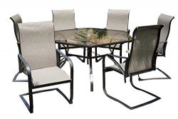 Rose Garden Patio 7-PC Scottsdale Dining Set