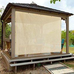 Alion Home Sun Shade Panel, 8 x 6-Feet, Banha Beige