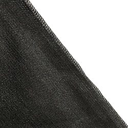 Shade Cloth Block 90% of UV Rays for Pergola/Greenhouses/Carport/Porch 8x12ft Black
