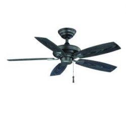 Gazebo II 42″ Indoor/Outdoor Natural Iron Ceiling Fan