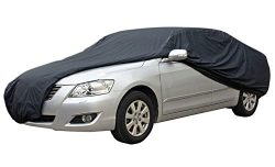 AZ Patio Heater Medium Car Cover Case – Black
