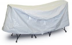 Protective Covers Weatherproof Patio Table and Chair Set Cover, 30 Inch x 36 Inch , Round Table, ...
