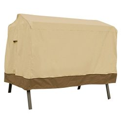 Classic Accessories Veranda 3-Seater Patio Canopy Swing Cover – Durable and Water Resistan ...