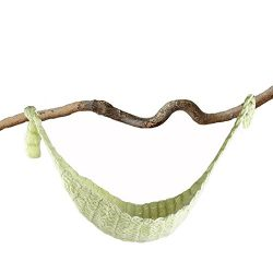 HUELE Croche Hammock Newborn Baby Photography Props Crochet Baby Hanging Cocoon for Photo Shoot  ...
