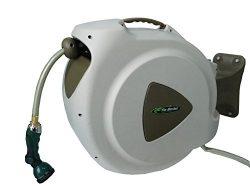 RL Flo-Master 65HR8 Retractable Hose Reel with 8 Spray Pattern Nozzle, 65-Foot