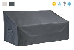 Patio Watcher Patio Loveseat/Sofa Cover All Weather Protective Patio Furniture Sofa Cover with S ...
