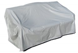 Protective Covers Weatherproof 2 Seat Wicker/Rattan Sofa Cover, X Large, Gray