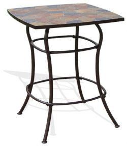Deeco Consumer Products Rock Canyon Bar Table