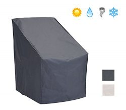 Patio Watcher Patio Chair Cover All Weather Protective Patio Furniture Cover High Back Outdoor C ...