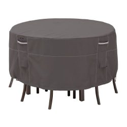 Classic Accessories Ravenna Bistro Patio Table & Chair Set Cover – Premium Outdoor Fur ...