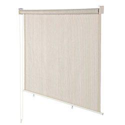 Derstadt Window Roller Shade Roll up Shade Roller Shades Blind Roll Up Curtain Sun Blackout Exte ...