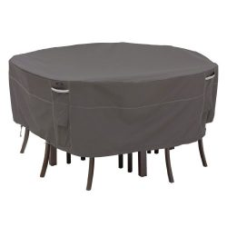 Classic Accessories Ravenna Round Patio Table & Chair Set Cover – Premium Outdoor Furn ...