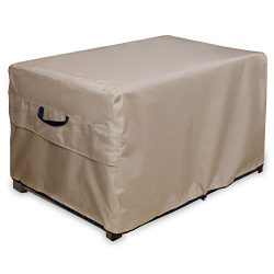 ULT Cover Patio Deck Box/Storage Bench Cover, 100% Waterproof Outdoor Coffee Table Cover and Ott ...