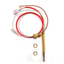 MENSI Outdoor Patio Heater M6*0.75 Head Thread With M8X1 End Connection Nuts Thermocouple 410mm