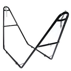 Sunnydaze Universal Multi-Use Heavy-Duty Steel Hammock Stand, 2 Person, Fits Hammocks 9 to 14 Fe ...