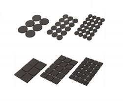 60 PCS Furniture Felt Pads patio set room portable couches living clearance plans outdoor anchor ...