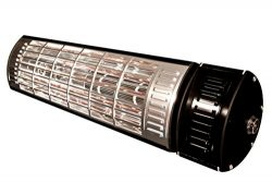 1500 Watt Infrared Heater Remote Controlled Patio Heater/on Off/ High /Low/med