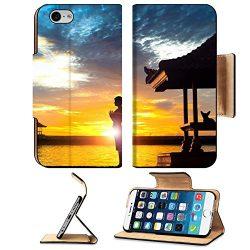 Liili Premium Apple iPhone 6 iPhone 6S Flip Pu Leather Wallet Case IMAGE ID: 31698982 Silhouette ...