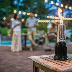 Bella Tavola BT-1000 Divine Evening Outdoor Table Tiki Torch, Black