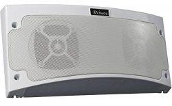 KING RVM1000 Bluetooth Outdoor Speaker with White LED Light – White