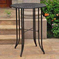 Bar-Height Patio Bistro Table