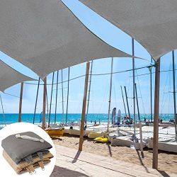 casa pura Sun Shade Sail | Shade Cloth, Protect Against UV | Sun Shades for Patio and Garden | R ...