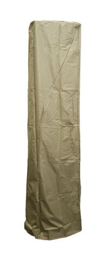 AZ Patio Heaters HVD-SGTCV-T Heavy Duty Glass Tube Cover in Camel Color, Square