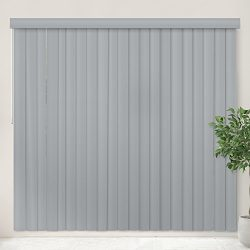 Chicology Cordless Vertical Blinds Patio Door Or Large Window Shade, 78″ W X 84″ H,  ...