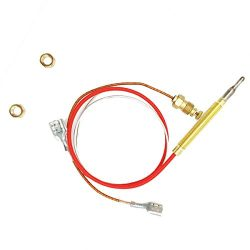 Outdoor Heater Replacement Parts M8 x 1 End Connection Nuts Thermocouple 0.4 Meters Length M6 x  ...