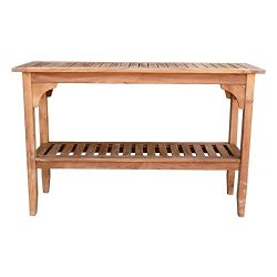 Cambridge-Casual AMZ-350229T Andrea Teak Console Table, Natural