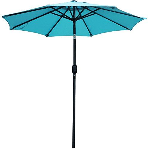 Uv Patio Umbrella: SNAIL 7.2 Ft Aluminum Patio Umbrella Sunshade UV Water