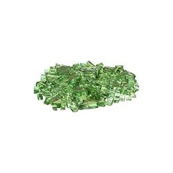 AZ Patio Firepit Reflective Glass, 20 lb, Green