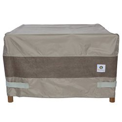 Duck Covers Elegant Square Fire Pit Cover, 40-Inch