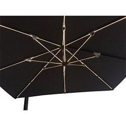 Pation Umbrella with LEDS (Black UMBR02LED)