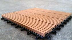 Vifah V98SET43 7 Piece Malibu Outdoor Wood Patio Dining Set