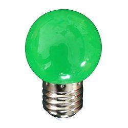 Light, Hatop E27 Energy Saving LED Bulb Color Incandescent Outdoor Garden Party Decoration (Green)