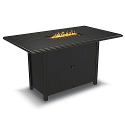 Signature Design by Ashley P539-665 Perry Mount Patio Fire Pit, Brown