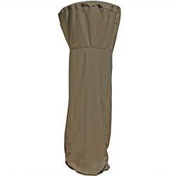 Sunnydaze Khaki Patio Heater Cover, 94 Inch Tall