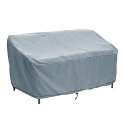 Patio Bench/Loveseat/Sofa Cover Outdoor Deap Seat Sofa Cover Waterproof Outdoor Furniture Cover( ...